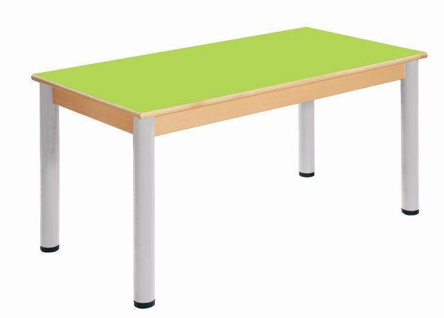 Table 120 x 60 cm / height adjustable legs 52 - 70 cm