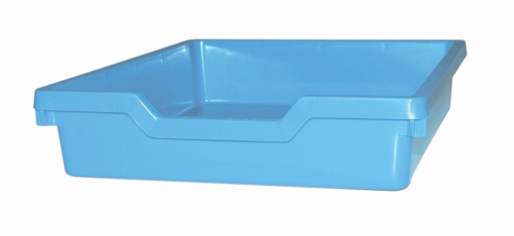 Plastic drawer N1 SINGLE - pastel blue Gratnells