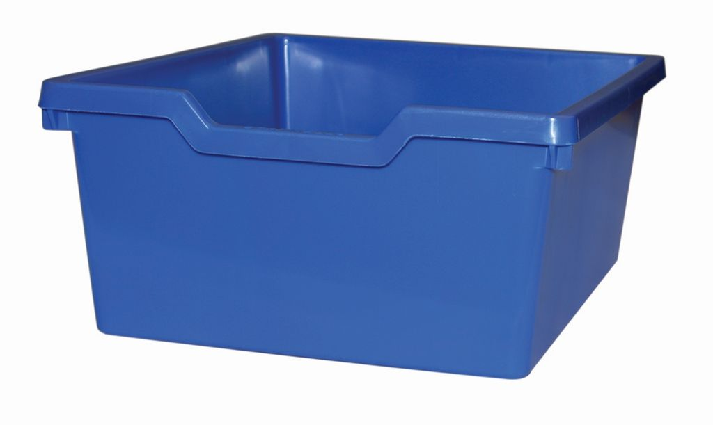 Plastic drawer N2 DOUBLE - blue Gratnells