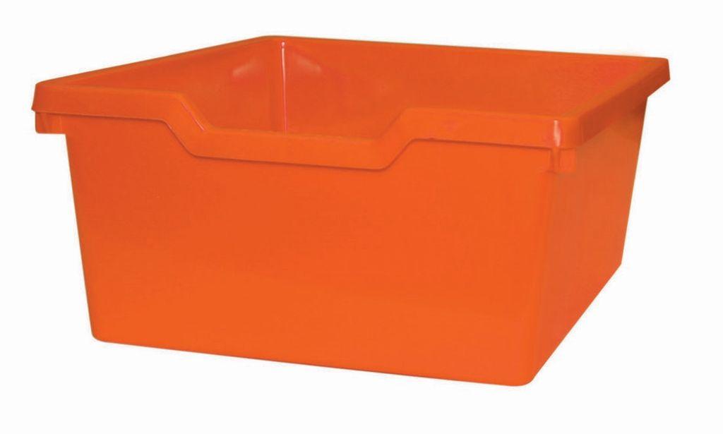Plastic drawer N2 DOUBLE - orange Gratnells