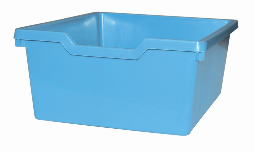 Plastic drawer N2 DOUBLE - pastel blue Gratnells