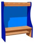 Side panel for wardrobe
