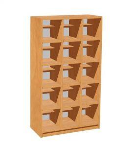 Shoe rack for 15 children