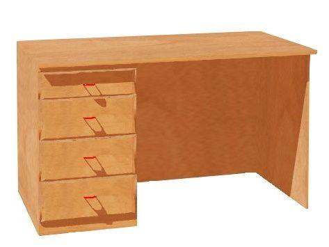 Teacher´s desk, formica tabletop
