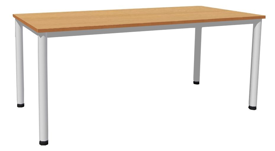 Table 180 x 80 cm with base metal