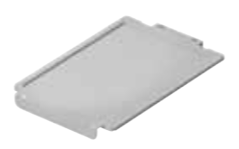 Lid on the plastic tray F1, F2, F3 - clear