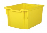 Plastic tray EXTRA DEEP - yellow