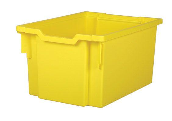 Plastic tray EXTRA DEEP - yellow Gratnells